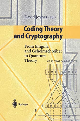 9783540663362: Coding Theory and Cryptography: From Enigma and Geheimschreiber to Quantum Theory