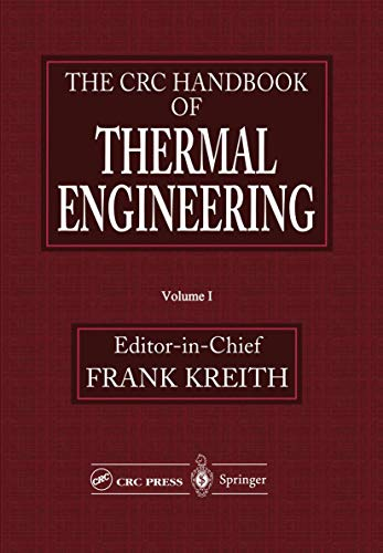 9783540663492: The CRC Handbook of Thermal Engineering (The mechanical engineering han)