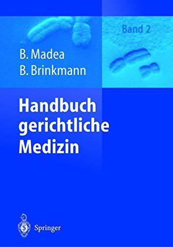 9783540664475: Handbuch gerichtliche Medizin: Band 2