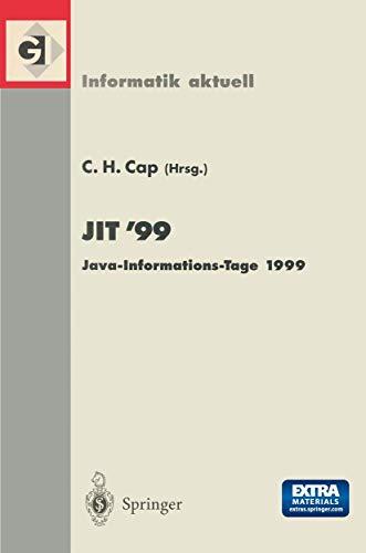 JIT'99. Java-Informations-Tage 1999: CLEMENS H. CAP