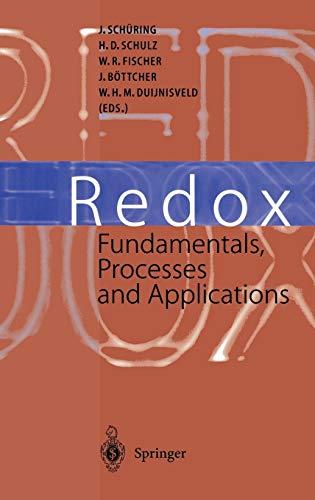 9783540665281: Redox: Fundamentals, Processes and Applications
