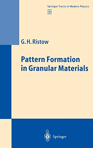 9783540667018: Pattern Formation in Granular Materials (Springer Tracts in Modern Physics)