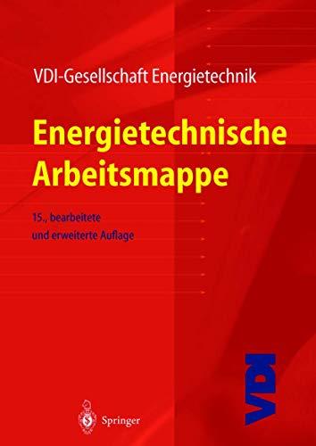 9783540667049: Energietechnische Arbeitsmappe (VDI-Buch) (German Edition)
