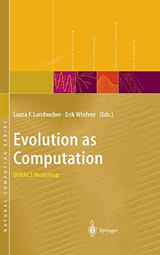 9783540667094: Evolution as Computation
