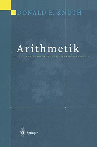 Arithmetik (.Aus der Reihe The Art of: Knuth, Donald E.,