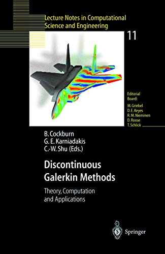 9783540667872: Discontinuous Galerkin Methods: Theory, Compuration and Applications