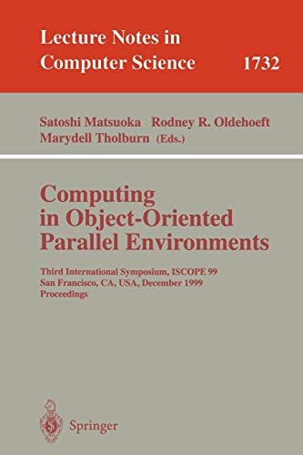 9783540668183: Computing in Object-Oriented Parallel Environments