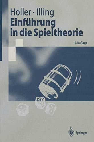 9783540668312: Einf Hrung in Die Spieltheorie (Springer-Lehrbuch)
