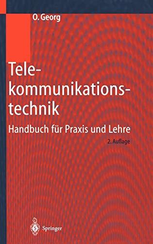 9783540668459: Telekommunikationstechnik: Handbuch für Praxis und Lehre