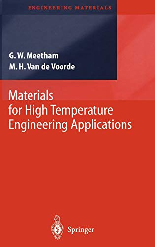 9783540668619: Materials for High Temperature Engineering Applications (Engineering Materials)