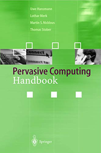 Pervasive Computing Handbook: Merk, Lothar, Nicklous,
