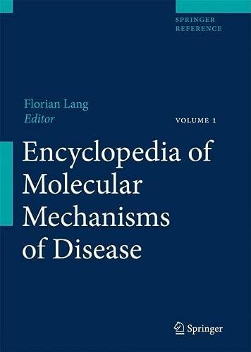 9783540671367: Encyclopedia of Molecular Mechanisms of Disease