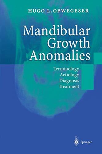 9783540672142: Mandibular Growth Anomalies: Terminology - Aetiology Diagnosis - Treatment