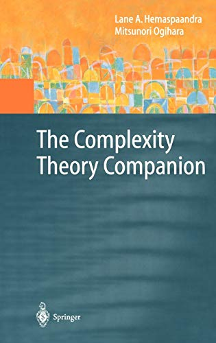 9783540674191: The Complexity Theory Companion (Texts in Theoretical Computer Science. An EATCS Series)
