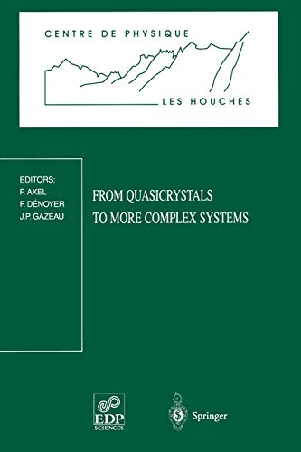 9783540674641: From Quasicrystals to More Complex Systems