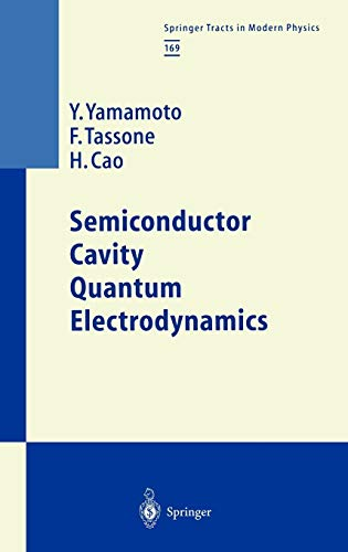 9783540675204: Semiconductor Cavity Quantum Electrodynamics (Springer Tracts in Modern Physics)