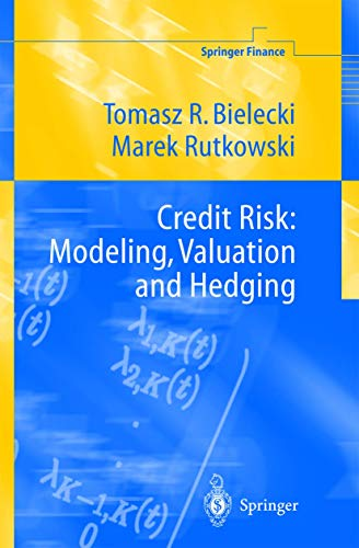 9783540675938: Credit Risk: Modeling, Valuation and Hedging