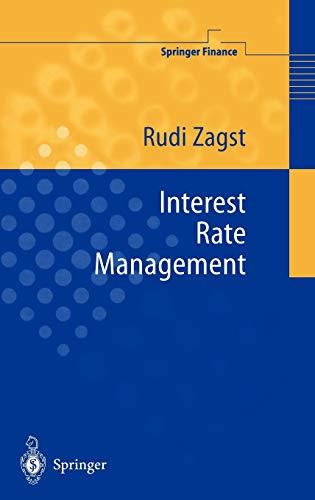 9783540675945: Interest Rate Management