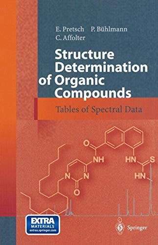9783540678151: Structure Determination of Organic Compounds: Tables of Spectral Data
