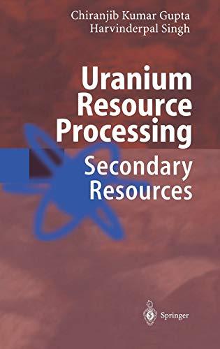 Uranium Resource Processing: C. K. Gupta