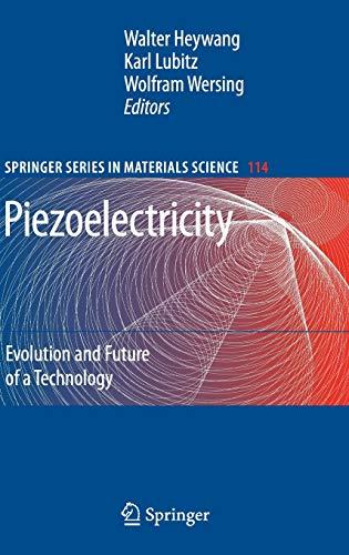 Piezoelectricity: Walter Heywang
