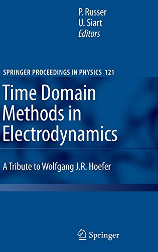 9783540687665: Time Domain Methods in Electrodynamics: A Tribute to Wolfgang J. R. Hoefer (Springer Proceedings in Physics)