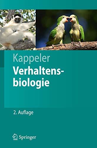 9783540687764: Verhaltensbiologie (Springer-Lehrbuch)