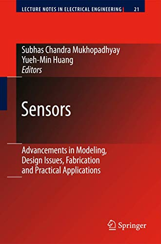 9783540690306: Sensors: Advancements in Modeling, Design Issues, Fabrication and Practical Applications (Lecture Notes in Electrical Engineering)
