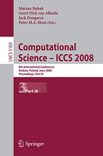Computational Science: ICCS 2008