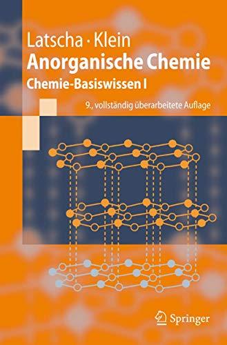 9783540698630: Anorganische Chemie: Chemie-Basiswissen I (Springer-Lehrbuch) (German Edition)