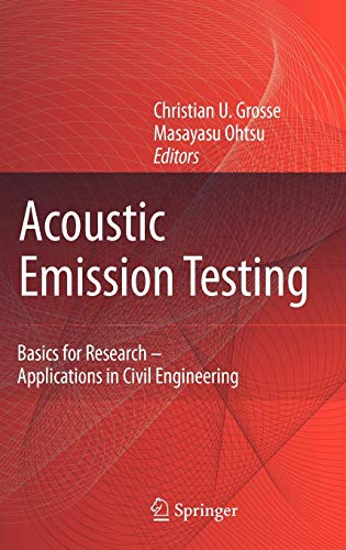 9783540698951: Acoustic Emission Testing: Basics for Research - Applications in Civil Engineering