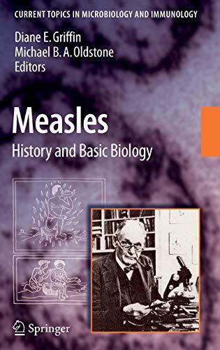 Measles: History and Basic Biology (Current Topics in Microbiology and Immunology): Springer