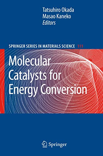 9783540707301: Molecular Catalysts for Energy Conversion (Springer Series in Materials Science)