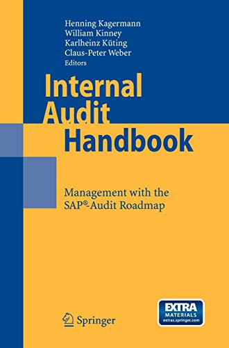 Internal Audit Handbook: Management with the SAP-Audit Roadmap: Henning Kagermann (Herausgeber)