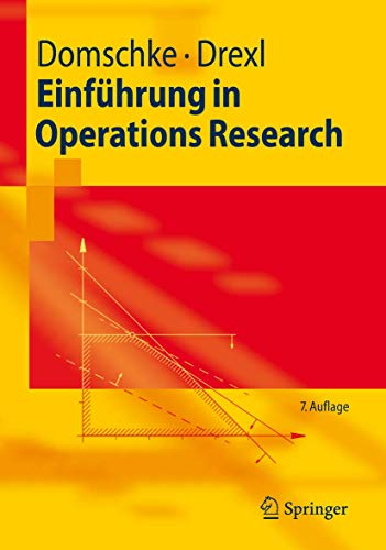 9783540709480: Einführung in Operations Research (Springer-Lehrbuch)