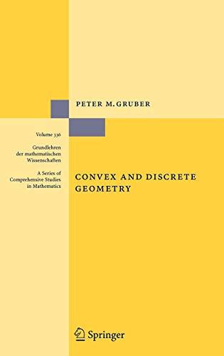 9783540711322: Convex and Discrete Geometry (Grundlehren der mathematischen Wissenschaften)