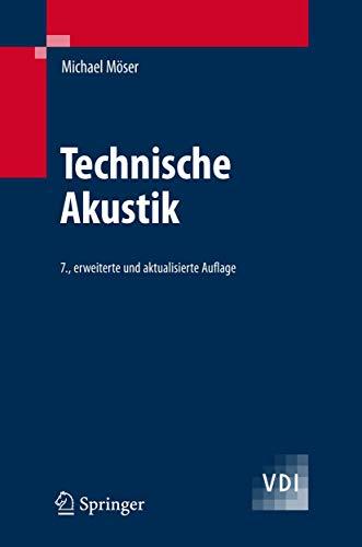 9783540713869: Technische Akustik (VDI-Buch) (German Edition)