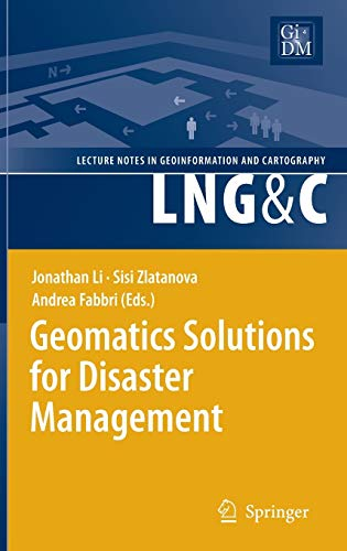 Geomatics Solutions for Disaster Management: Andrea Fabbri