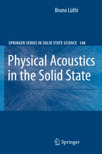 9783540721932: Physical Acoustics in the Solid State (Springer Series in Solid-State Sciences)