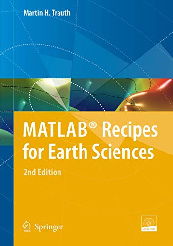 9783540727484: MATLAB® Recipes for Earth Sciences
