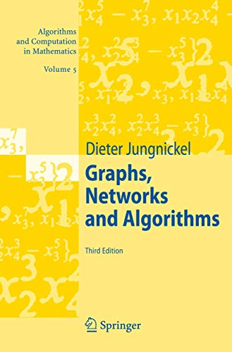 9783540727798: Graphs, Networks and Algorithms (Algorithms and Computation in Mathematics)