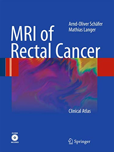 9783540728320: MRI of Rectal Cancer: Clinical Atlas