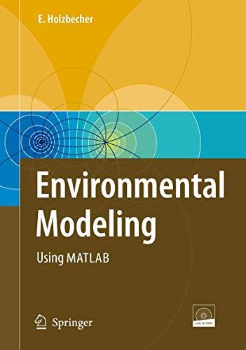9783540729365: Environmental Modeling: Using MATLAB®