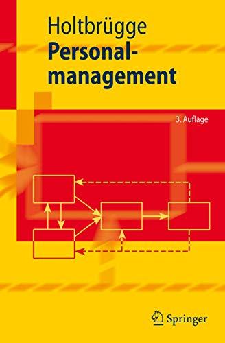 9783540732600: Personalmanagement (Springer-Lehrbuch)