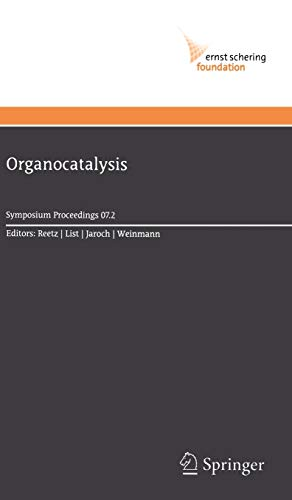 Organocatalysis: Manfred T. Reetz
