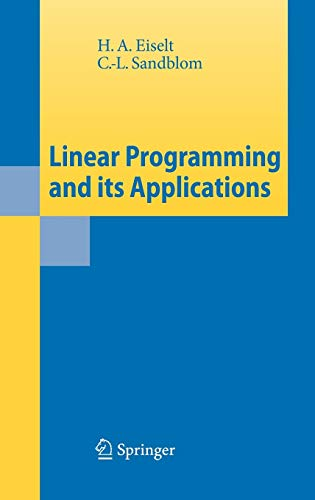 9783540736707: Linear Programming and its Applications
