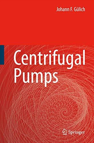 9783540736943: Centrifugal Pumps
