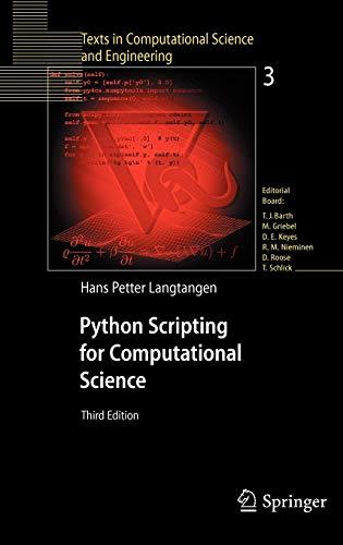 9783540739159: Python Scripting for Computational Science