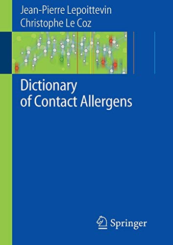 9783540741640: Dictionary of Contact Allergens