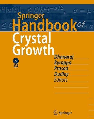 Springer Handbook of Crystal Growth: Govindhan Dhanaraj